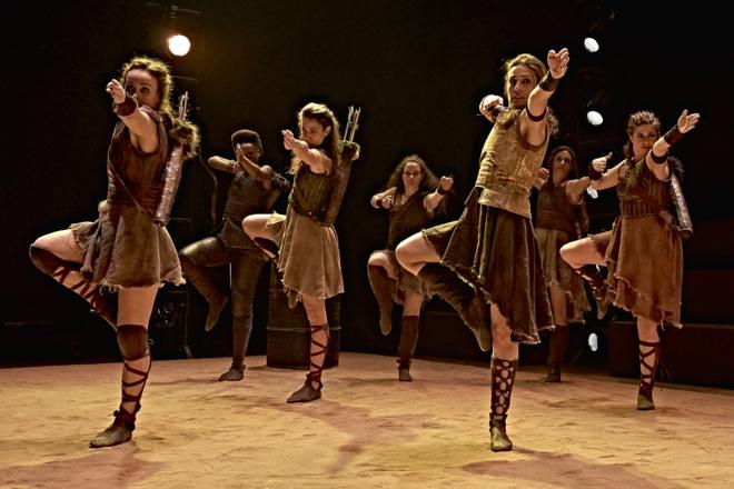 PENTHESILIA, dança solitária para uma heroína apaixonada
